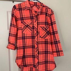 Guess small plaid shirt